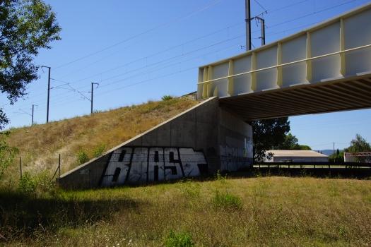 Passage ferroviaire supérieur sur la D59