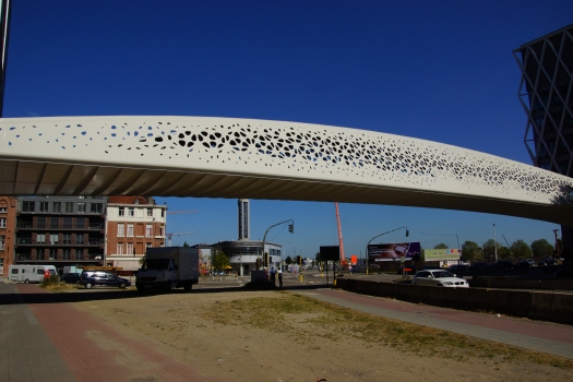 Brücke Park Spoor Noord