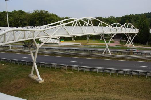 Geh- und Radwegbrücke Genk