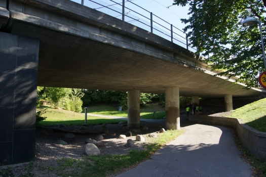 Pont-tramway sur la Simlångsvägen