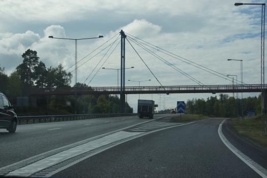 Södertälje Pedestrian Overpass