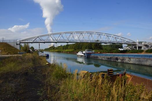 Lippeparkbrücke über den Datteln-Hamm-Kanal