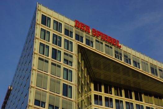 Spiegel-Gebäude an der Ericusspitze