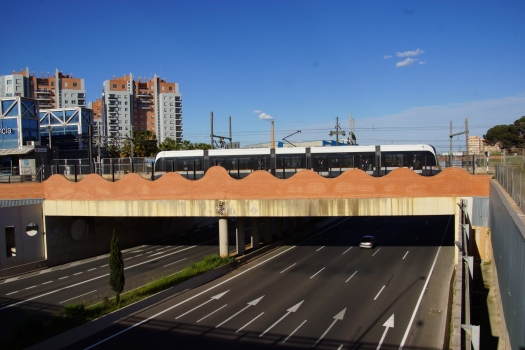 U-Bahnbrücke Empalme