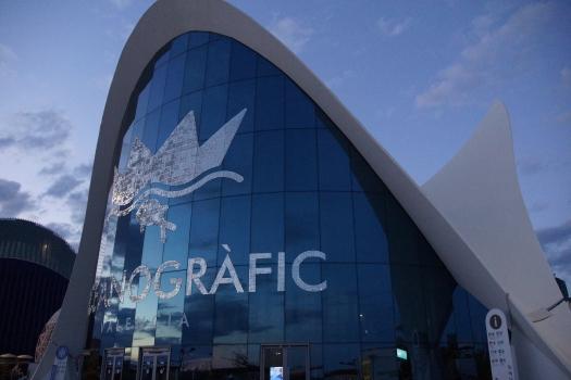 L'Oceanogràfic - Immeuble d'accès