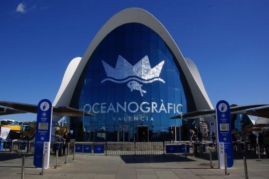 L'Oceanogràfic - Empfangsgebäude