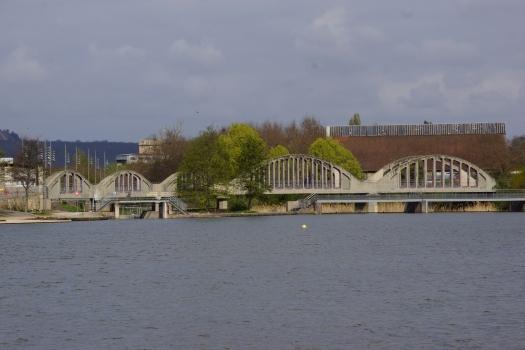 Pont du Port nautique de Nancy