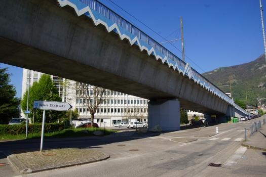 Pont du tramway sur l'Isère