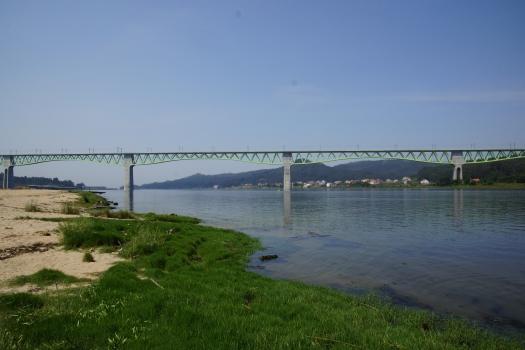Viaduc sur l'estuaire de l'Ulla