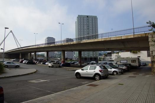 Hochstraße Avenida de la Universidad