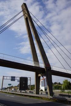 Fußgängerbrücke über die Estrada Porriño Redondela