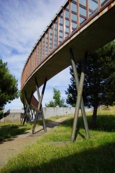 Université de Vigo - Passerelle de la Bibliothèque