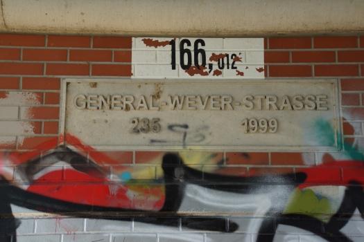 General-Wever-Strasse Bridge