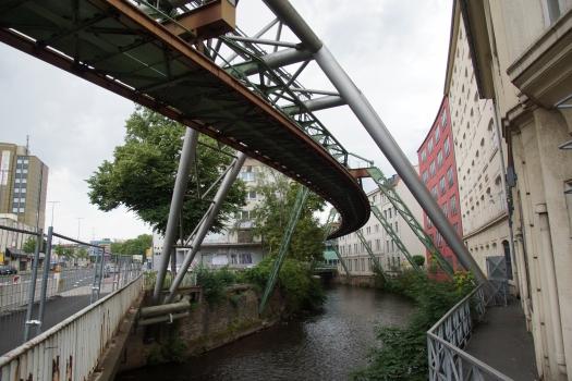 Superstructure de monorail suspendu de Kluse