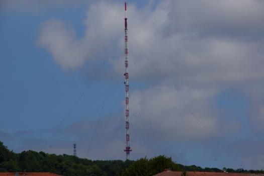 Mât émetteur de Malzéville