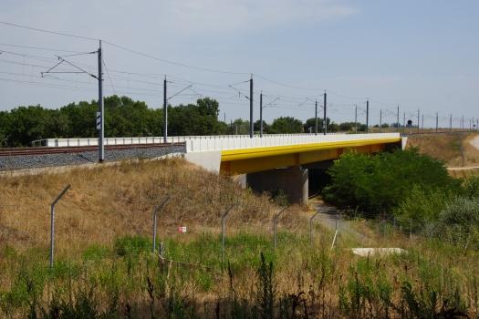 Pont sur le Canal de Campagne