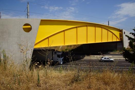 Viaduc sur l'A54