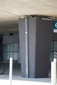 Toulouse-Blagnac Airport Terminal Access Viaduct