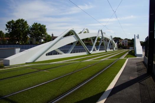 Straßenbahnbrücke Blagnac