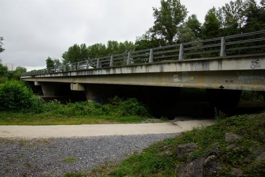 Pont de l'A64 sur l'Adour