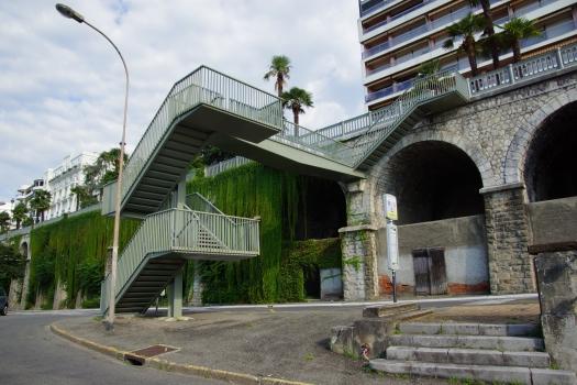 Escalier de l'Avenue Napoléon Bonaparte