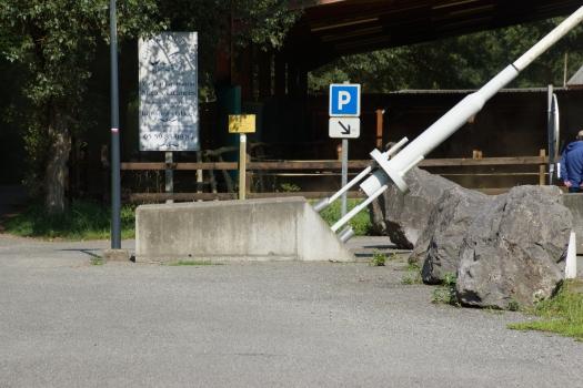 Geh- und Radwegbrücke Laroin