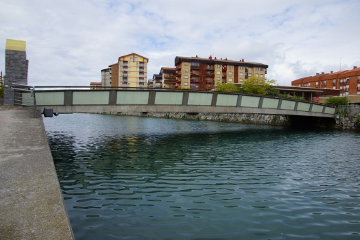Geh- und Radwegbrücke Zumaia