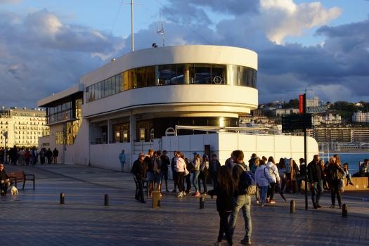 Building of the Real Club Náutico de San Sebastián