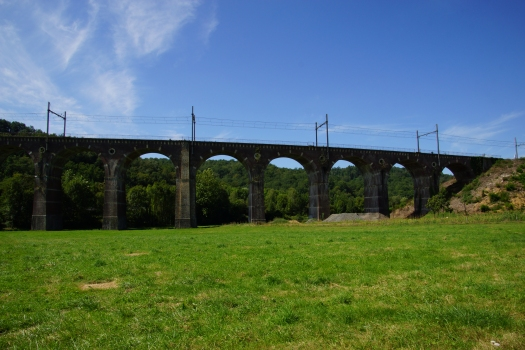 Eisenbahnviadukt Lanespède