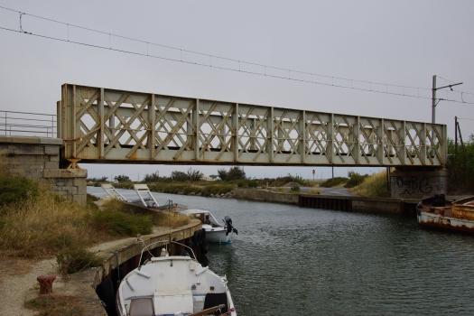 Eisenbahnüberführung über den Canal de la Robine