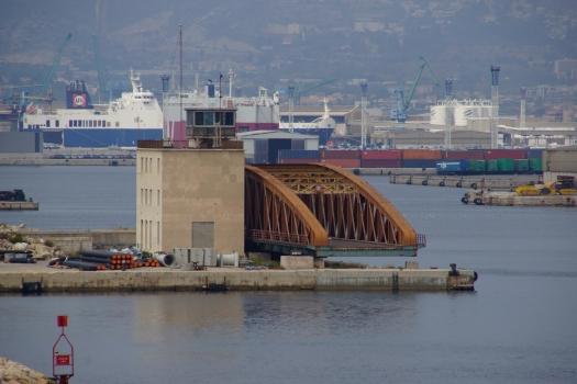 Pont tournant d'Arenc