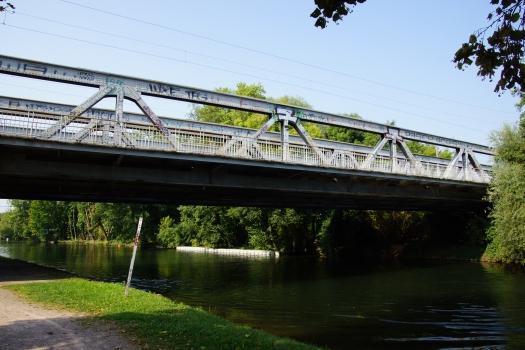 Eisenbahnbrücke über die Ill