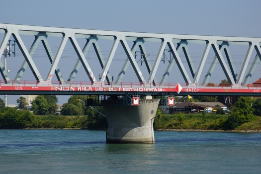 New Strasbourg-Kehl Railroad Bridge