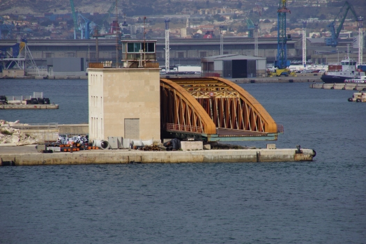 Drehbrücke Arenc