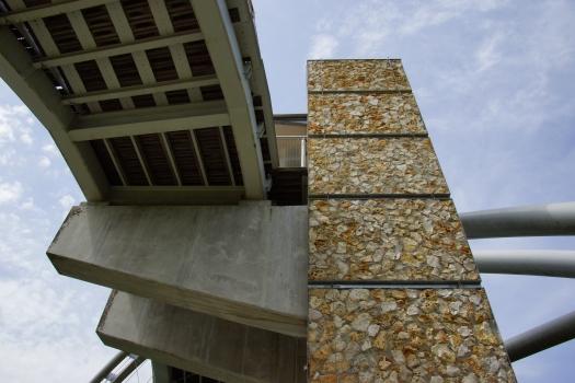 Nanterre Port Footbridge