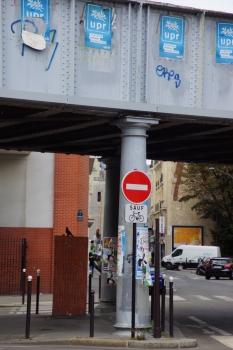 Eisenbahnüberführung Rue de la Jonquière