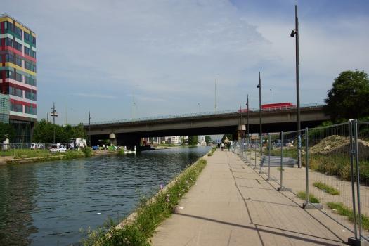 Pont du Périphérique sur le Canal Saint-Denis