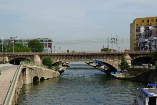 Saint-Denis Canal Rail Bridge