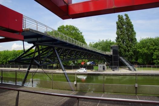 Passerelle du Parc de la Villette (I)