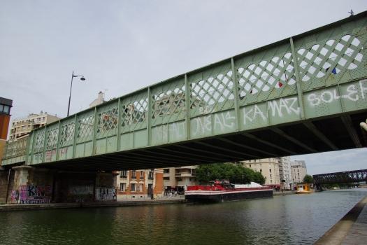 Pont de la rue de l'Ourcq