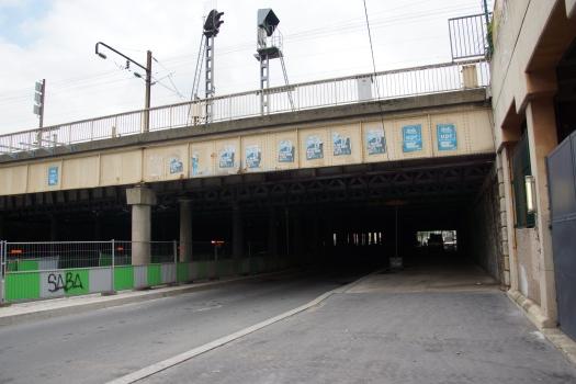 Eisenbahnüberführung Boulevard Berthier (I)