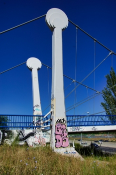 Passerelle du Parque de la Cuña sur la M-40