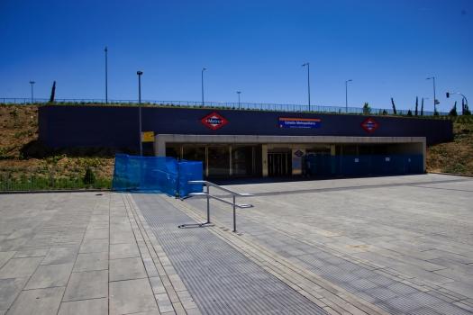 Station de métro Estadio Metropolitano