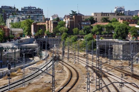 Eisenbahntunnel Madrid (Ost)
