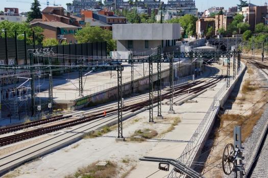AVE-Eisenbahntunnel Madrid