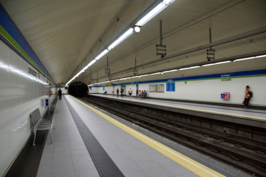 Canillejas Metro Station