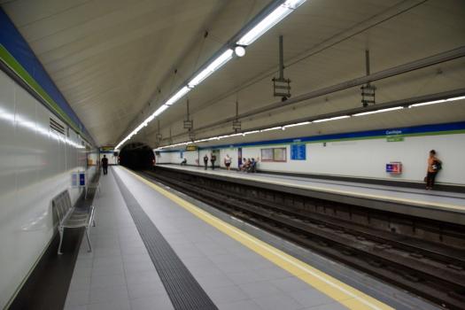 Metrobahnhof Canillejas