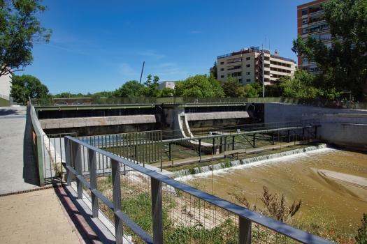 Barrage no. 3 sur le Manzanares