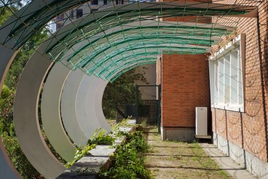 Instituto Técnico de la Construcción Eduardo Torroja - Pergola