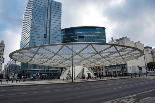 Canopée de la Place Rogier
